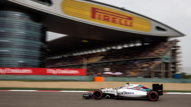 Valtteri Bottas (FIN) Williams FW38 at Formula One World Championship, Rd3, Chinese Grand Prix, Qualifying, Shanghai, China, Saturday 16 April 2016. &copy&#x3b; Sutton Motorsport Images