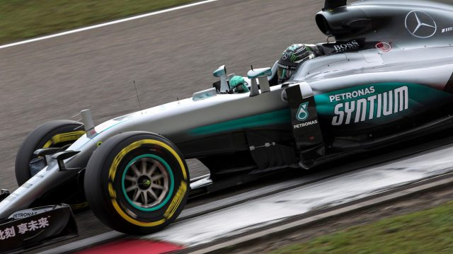 Nico Rosberg (GER) Mercedes-Benz F1 W07 Hybrid at Formula One World Championship, Rd3, Chinese Grand Prix, Qualifying, Shanghai, China, Saturday 16 April 2016. &copy&#x3b; Sutton Motorsport Images