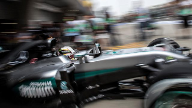 Lewis Hamilton (GBR) Mercedes-Benz F1 W07 Hybrid at Formula One World Championship, Rd3, Chinese Grand Prix, Practice, Shanghai, China, Friday 15 April 2016. &copy&#x3b; Sutton Motorsport Images