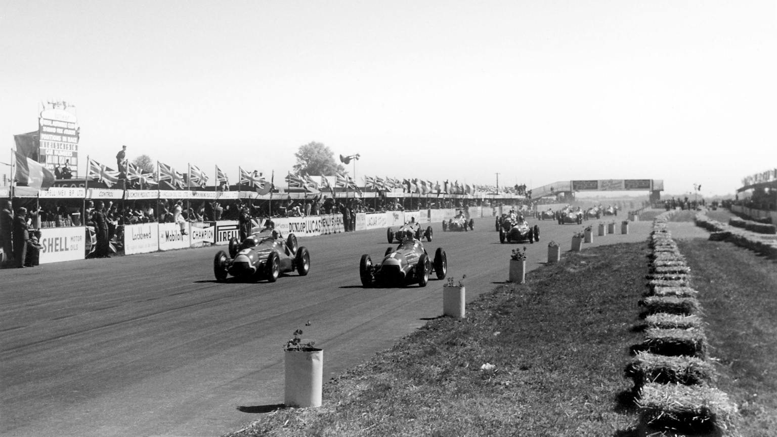 Ten fascinating facts about the very first F1 race