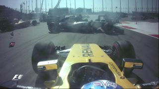 Russia's chaotic start - the unseen onboard angles