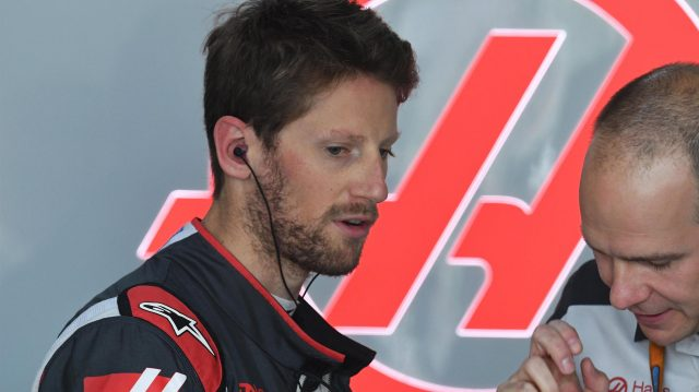 Romain Grosjean (FRA) Haas F1 at Formula One World Championship, Rd5, Spanish Grand Prix, Practice, Barcelona, Spain, Friday 13 May 2016. &copy&#x3b; Sutton Motorsport Images