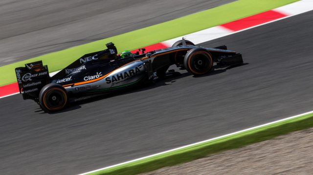 Nico Hulkenberg (GER) Force India VJM09 at Formula One World Championship, Rd5, Spanish Grand Prix, Practice, Barcelona, Spain, Friday 13 May 2016. &copy&#x3b; Sutton Images