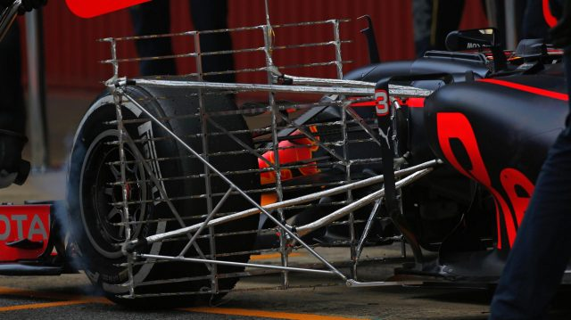 Aero sensor on the Red Bull Racing RB12 at Formula One Testing, Day One, Barcelona, Spain, 17 May 2016. &copy&#x3b; Sutton Images