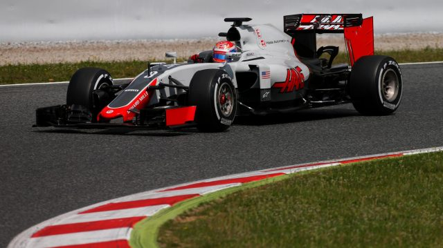 Romain Grosjean (FRA) Haas VF-16 at Formula One Testing, Day One, Barcelona, Spain, 17 May 2016. &copy&#x3b; Sutton Images