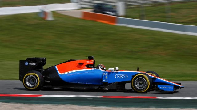 Pascal Wehrlein (GER) Manor Racing MRT05 at Formula One Testing, Day One, Barcelona, Spain, 17 May 2016. &copy&#x3b; Sutton Images