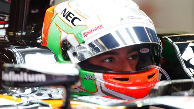 Alfonso Celis jr (MEX) Force India VJM09 at Formula One Testing, Day One, Barcelona, Spain, 17 May 2016. &copy&#x3b; Sutton Images