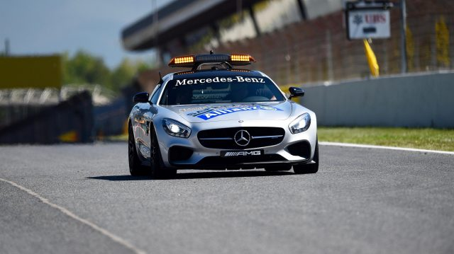 Safety Car at Formula One World Championship, Rd5, Spanish Grand Prix, Preparations, Barcelona, Spain, Thursday 12 May 2016. &copy&#x3b; Sutton Images