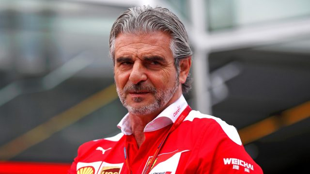 Maurizio Arrivabene (ITA) Ferrari Team Principal at Formula One World Championship, Rd5, Spanish Grand Prix, Preparations, Barcelona, Spain, Thursday 12 May 2016. &copy&#x3b; Sutton Images