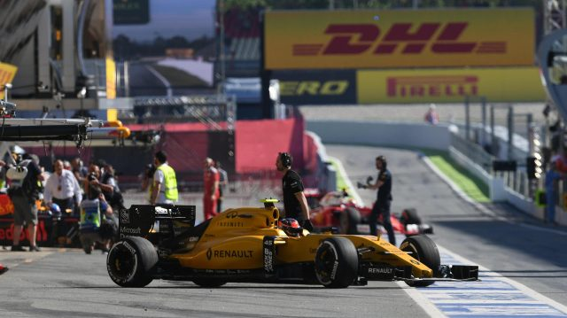 Esteban Ocon (FRA) Renault Sport F1 Team RS16 at Formula One World Championship, Rd5, Spanish Grand Prix, Practice, Barcelona, Spain, Friday 13 May 2016. &copy&#x3b; Sutton Motorsport Images