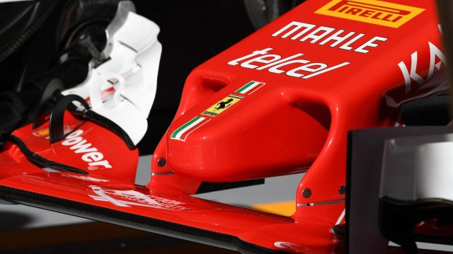 Ferrari SF16-H nose detail at Formula One World Championship, Rd5, Spanish Grand Prix, Practice, Barcelona, Spain, Friday 13 May 2016. &copy&#x3b; Sutton Motorsport Images