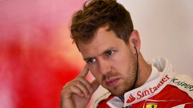 Sebastian Vettel (GER) Ferrari at Formula One World Championship, Rd5, Spanish Grand Prix, Practice, Barcelona, Spain, Friday 13 May 2016. &copy&#x3b; Sutton Images