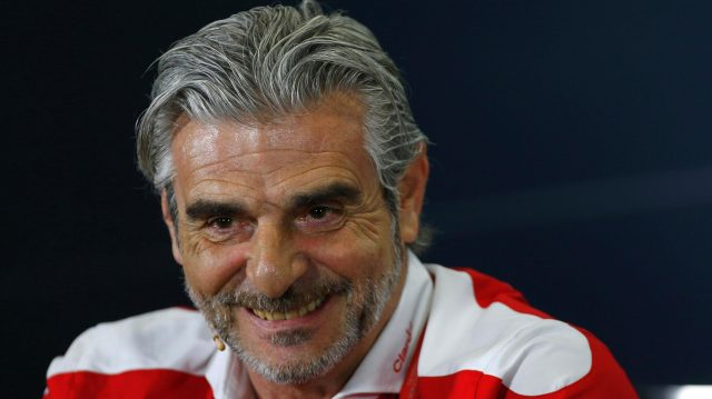 Maurizio Arrivabene (ITA) Ferrari Team Principal in the Press Conference at Formula One World Championship, Rd5, Spanish Grand Prix, Practice, Barcelona, Spain, Friday 13 May 2016. &copy&#x3b; Sutton Images