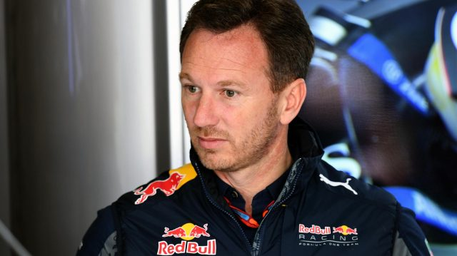 Christian Horner (GBR) Red Bull Racing Team Principal at Formula One World Championship, Rd5, Spanish Grand Prix, Practice, Barcelona, Spain, Friday 13 May 2016. &copy&#x3b; Sutton Motorsport Images