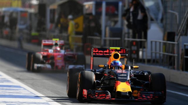 Max Verstappen (NED) Red Bull Racing RB12 at Formula One World Championship, Rd5, Spanish Grand Prix, Practice, Barcelona, Spain, Friday 13 May 2016. &copy&#x3b; Sutton Motorsport Images