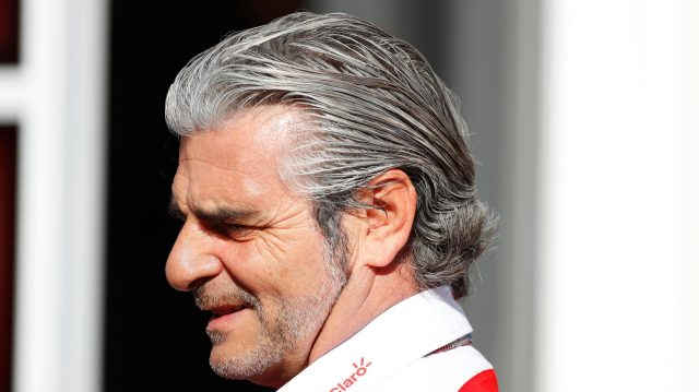 Maurizio Arrivabene (ITA) Ferrari Team Principal at Formula One World Championship, Rd5, Spanish Grand Prix, Qualifying, Barcelona, Spain, Saturday 14 May 2016. &copy&#x3b; Sutton Images