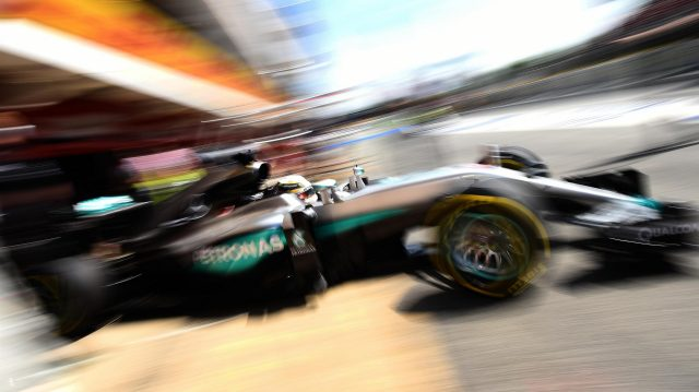 Lewis Hamilton (GBR) Mercedes-Benz F1 W07 Hybrid at Formula One World Championship, Rd5, Spanish Grand Prix, Qualifying, Barcelona, Spain, Saturday 14 May 2016. &copy&#x3b; Sutton Motorsport Images