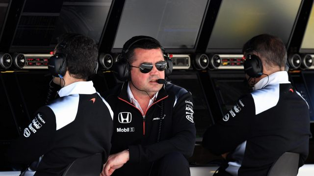 Eric Boullier (FRA) McLaren Racing Director at Formula One World Championship, Rd5, Spanish Grand Prix, Qualifying, Barcelona, Spain, Saturday 14 May 2016. &copy&#x3b; Sutton Motorsport Images
