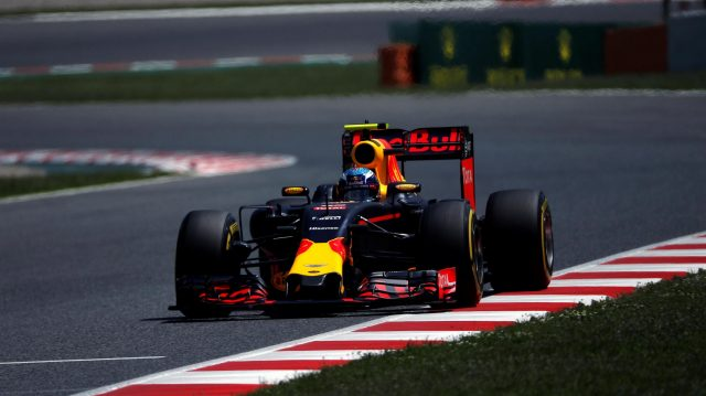 Max Verstappen (NED) Red Bull Racing RB12 at Formula One World Championship, Rd5, Spanish Grand Prix, Qualifying, Barcelona, Spain, Saturday 14 May 2016. &copy&#x3b; Sutton Motorsport Images