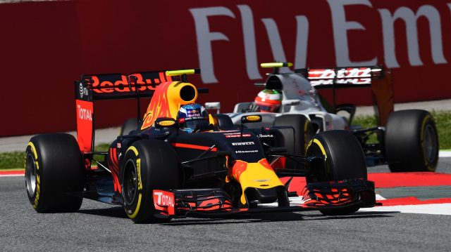 Max Verstappen (NED) Red Bull Racing RB12 at Formula One World Championship, Rd5, Spanish Grand Prix, Qualifying, Barcelona, Spain, Saturday 14 May 2016. &copy&#x3b; Sutton Images