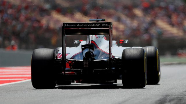 Romain Grosjean (FRA) Haas VF-16 at Formula One World Championship, Rd5, Spanish Grand Prix, Qualifying, Barcelona, Spain, Saturday 14 May 2016. &copy&#x3b; Sutton Images