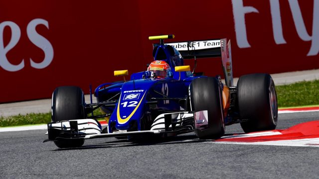 Felipe Nasr (BRA) Sauber C35 at Formula One World Championship, Rd5, Spanish Grand Prix, Qualifying, Barcelona, Spain, Saturday 14 May 2016. &copy&#x3b; Sutton Motorsport Images