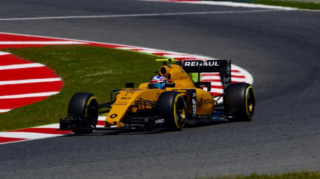Jolyon Palmer (GBR) Renault Sport F1 Team RS16 at Formula One World Championship, Rd5, Spanish Grand Prix, Qualifying, Barcelona, Spain, Saturday 14 May 2016. &copy&#x3b; Sutton Motorsport Images