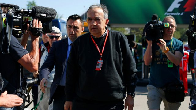 Sergio Marchionne (ITA) CEO FIAT at Formula One World Championship, Rd5, Spanish Grand Prix, Race, Barcelona, Spain, Sunday 15 May 2016. &copy&#x3b; Sutton Images