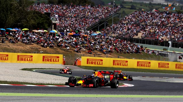 Daniel Ricciardo (AUS) Red Bull Racing RB12 at Formula One World Championship, Rd5, Spanish Grand Prix, Race, Barcelona, Spain, Sunday 15 May 2016. &copy&#x3b; Sutton Motorsport Images
