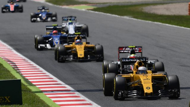 Kevin Magnussen (DEN) Renault Sport F1 Team RS16 at Formula One World Championship, Rd5, Spanish Grand Prix, Race, Barcelona, Spain, Sunday 15 May 2016. &copy&#x3b; Sutton Motorsport Images
