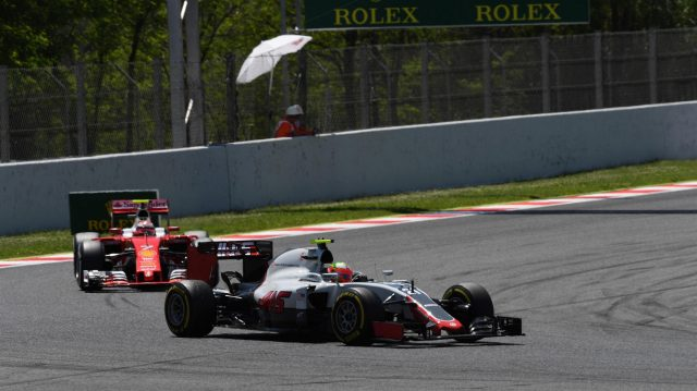 Esteban Gutierrez (MEX) Haas VF-16 at Formula One World Championship, Rd5, Spanish Grand Prix, Race, Barcelona, Spain, Sunday 15 May 2016. &copy&#x3b; Sutton Motorsport Images