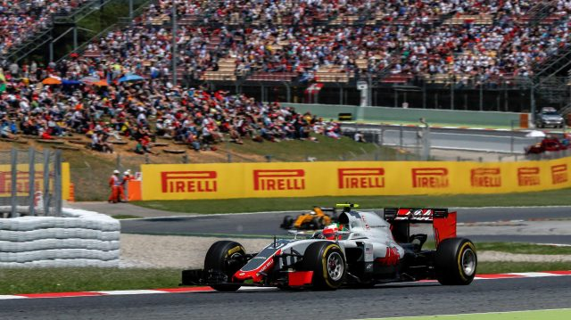 Esteban Gutierrez (MEX) Haas VF-16 at Formula One World Championship, Rd5, Spanish Grand Prix, Race, Barcelona, Spain, Sunday 15 May 2016. &copy&#x3b; Sutton Images