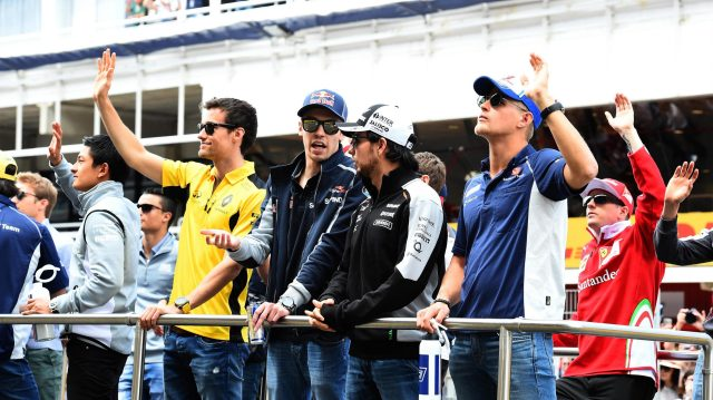 Drivers parade at Formula One World Championship, Rd5, Spanish Grand Prix, Race, Barcelona, Spain, Sunday 15 May 2016. &copy&#x3b; Sutton Motorsport Images