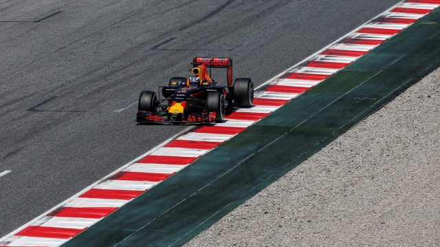 Daniel Ricciardo (AUS) Red Bull Racing RB12 at Formula One World Championship, Rd5, Spanish Grand Prix, Race, Barcelona, Spain, Sunday 15 May 2016. &copy&#x3b; Sutton Images