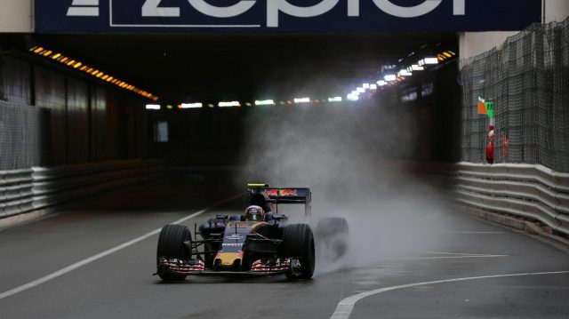 Carlos Sainz (ESP) Scuderia Toro Rosso STR11 at Formula One World Championship, Rd6, Monaco Grand Prix, Race, Monte-Carlo, Monaco, Sunday 29 May 2016. &copy&#x3b; Sutton Images