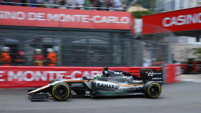 Nico Hulkenberg (GER) Force India VJM09 at Formula One World Championship, Rd6, Monaco Grand Prix, Race, Monte-Carlo, Monaco, Sunday 29 May 2016. &copy&#x3b; Sutton Images