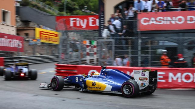 Marcus Ericsson (SWE) Sauber C35 at Formula One World Championship, Rd6, Monaco Grand Prix, Race, Monte-Carlo, Monaco, Sunday 29 May 2016. &copy&#x3b; Sutton Images