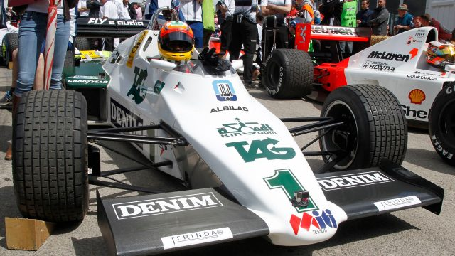 Karun Chandhok (IND) Williams FW08 1983 at Goodwood Festival of Speed, Goodwood, England, 24-26 June 2016. &copy&#x3b; Sutton Images