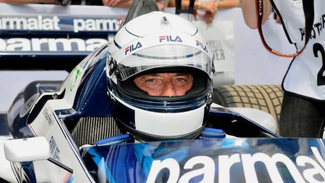 Riccardo Patrese (ITA) Brabham BMW BT52 at Goodwood Festival of Speed, Goodwood, England, 24-26 June 2016. &copy&#x3b; Sutton Images