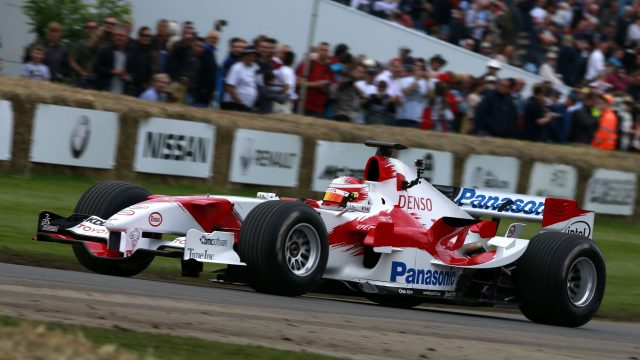 Toyota TF105 at Goodwood Festival of Speed, Goodwood, England, 24-26 June 2016. &copy&#x3b; Sutton Images + 44 1327 352188,Sutton Images