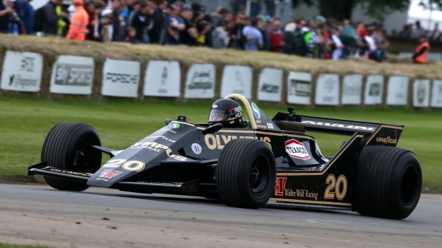 Freddie Hunt (GBR) Wolf-Cosworth WR7 at Goodwood Festival of Speed, Goodwood, England, 24-26 June 2016. &copy&#x3b; Sutton Images