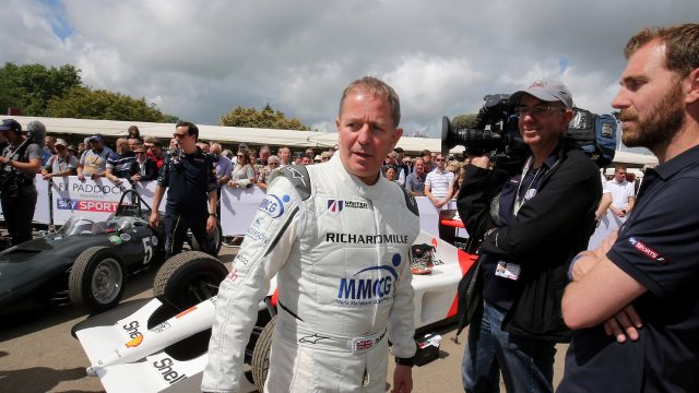 Martin Brundle (GBR) at Goodwood Festival of Speed, Goodwood, England, 24-26 June 2016. &copy&#x3b; Sutton Images