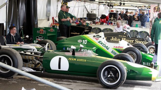 Lotus at Goodwood Festival of Speed, Goodwood, England, 24-26 June 2016. &copy&#x3b; Sutton Images