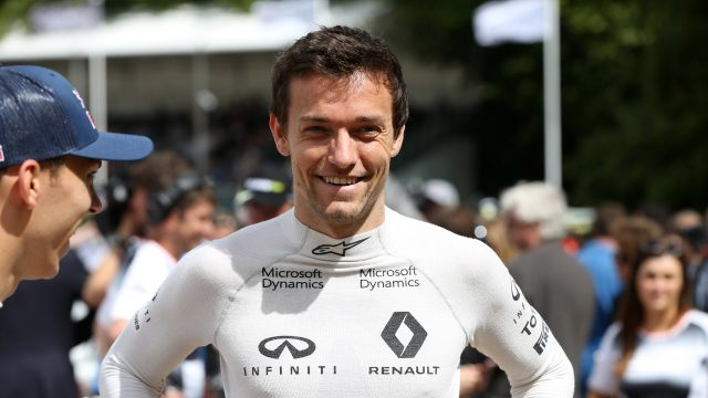 Jolyon Palmer (GBR) Renault Sport at Goodwood Festival of Speed, Goodwood, England, 24-26 June 2016. &copy&#x3b; Sutton Images