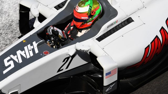 Esteban Gutierrez (MEX) Haas VF-16 at Formula One World Championship, Rd8, European Grand Prix, Qualifying, Baku City Circuit, Baku, Azerbaijan, Saturday 18 June 2016. &copy&#x3b; Sutton Images