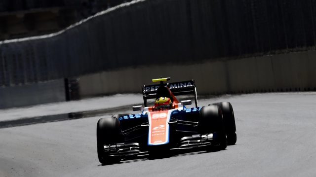Rio Haryanto (IDN) Manor Racing MRT05 at Formula One World Championship, Rd8, European Grand Prix, Qualifying, Baku City Circuit, Baku, Azerbaijan, Saturday 18 June 2016. &copy&#x3b; Sutton Images