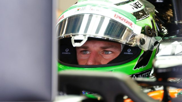 Nico Hulkenberg (GER) Force India F1 at Formula One World Championship, Rd8, European Grand Prix, Qualifying, Baku City Circuit, Baku, Azerbaijan, Saturday 18 June 2016. &copy&#x3b; Sutton Images