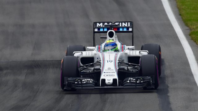 Felipe Massa (BRA) Williams FW38 at Formula One World Championship, Rd7, Canadian Grand Prix, Qualifying, Montreal, Canada, Saturday 11 June 2016. &copy&#x3b; Sutton Images