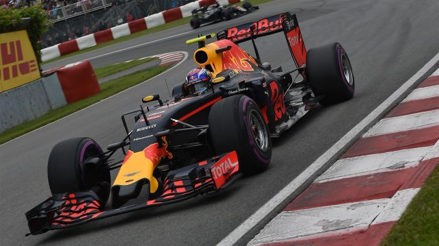 Max Verstappen (NED) Red Bull Racing RB12 at Formula One World Championship, Rd7, Canadian Grand Prix, Qualifying, Montreal, Canada, Saturday 11 June 2016. &copy&#x3b; Sutton Images