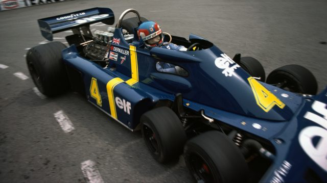 Tyrrell scored a two-three with the P34 in Monaco in just its third race. Patrick Depailler (pictured) was third. &copy&#x3b; LAT Photographic
